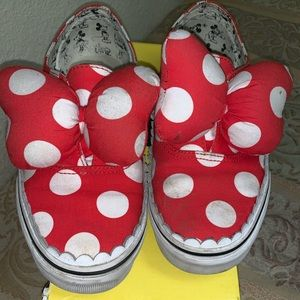 Disney Vans Minnie Bow